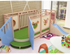 Box stage toddler play loft