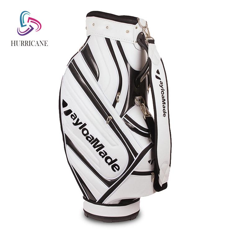 custom leather golf stand bag