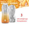 3. orange + clear