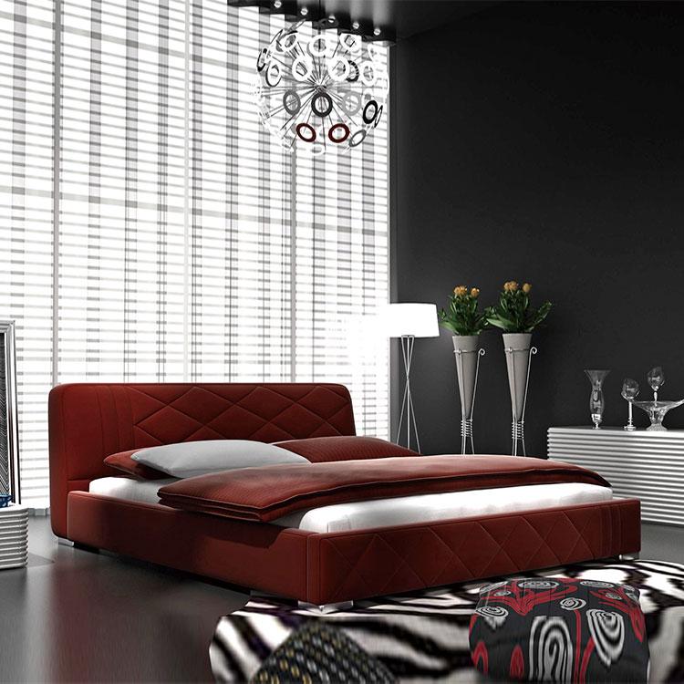hot sale fabric divan design upholstered luxury king double bed size bedroom furniture soft bed velvet bed frame