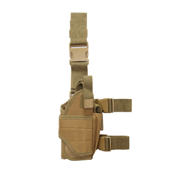 Adjustable Tactical Hunting Right Handed Leg Pistol Gun Pouch Holder Drop Leg Thigh Holster