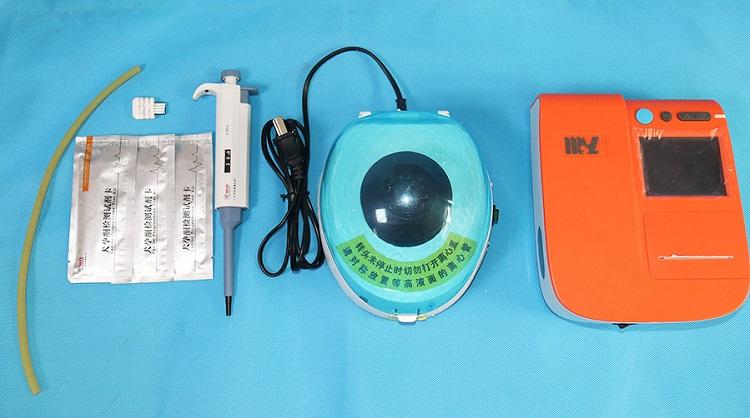 Флуоресцентный иммуноферментный тест на беременность kiVeterinary, автоматический детектор каннина и прогестерона