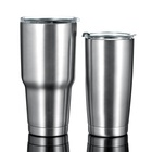 Wholesale BPA Free Double Wall Insulated 20oz/30oz 304 Stainless Steel Tumbler Cups in Bulk