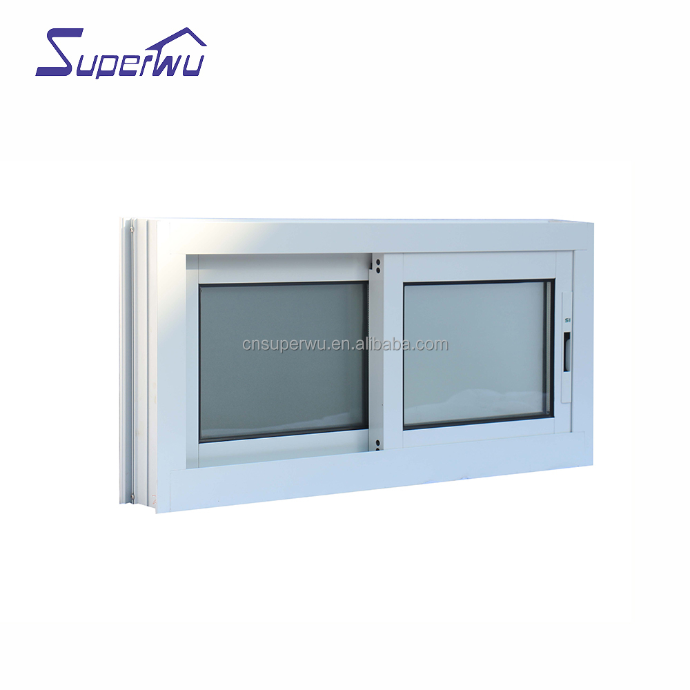 cost-effective double glazed clear impact glass aluminum sliding windows