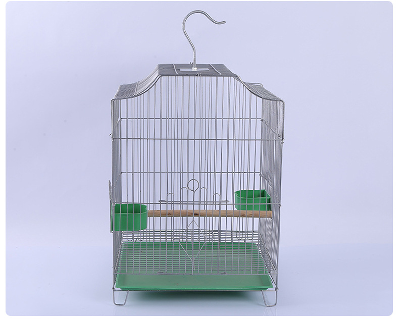 Wholesale factory directly square China style hanging bird cage