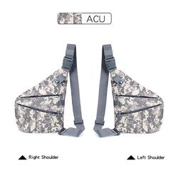 Функциональная тактическая нагрудная сумка, нейлоновая Военная нагрудная Сумка-слинг для мужчин