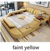 Fabric faint yellow