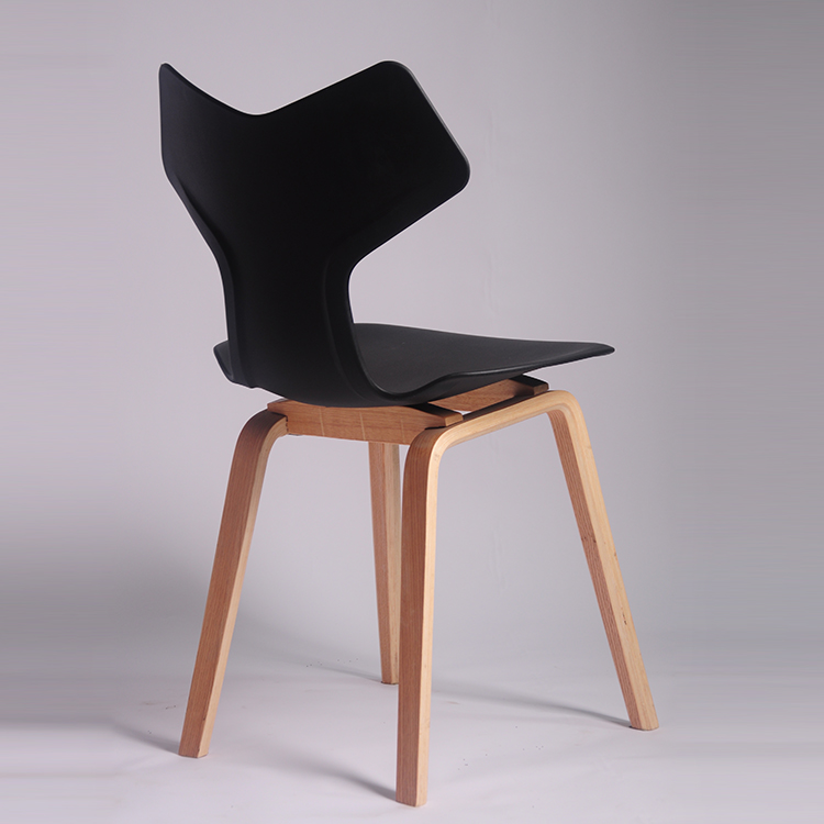 Popular Design Chair Dining Room Sets Wood Leg Chair In Different Color