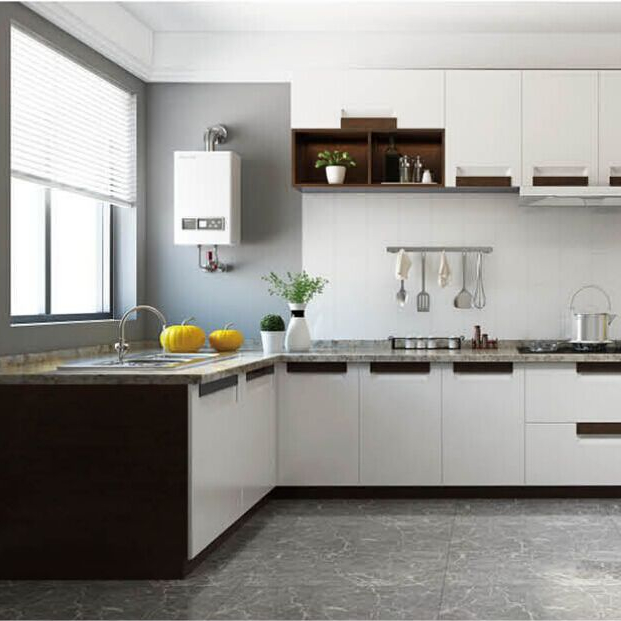New Fashionable Design Of Solid Wood Kitchen Cabinets Made In China Buy Kitchen Cabinet Modern Kitchen Cabinet Racks Nordic Kitchen Cabinet Product On Alibaba Com