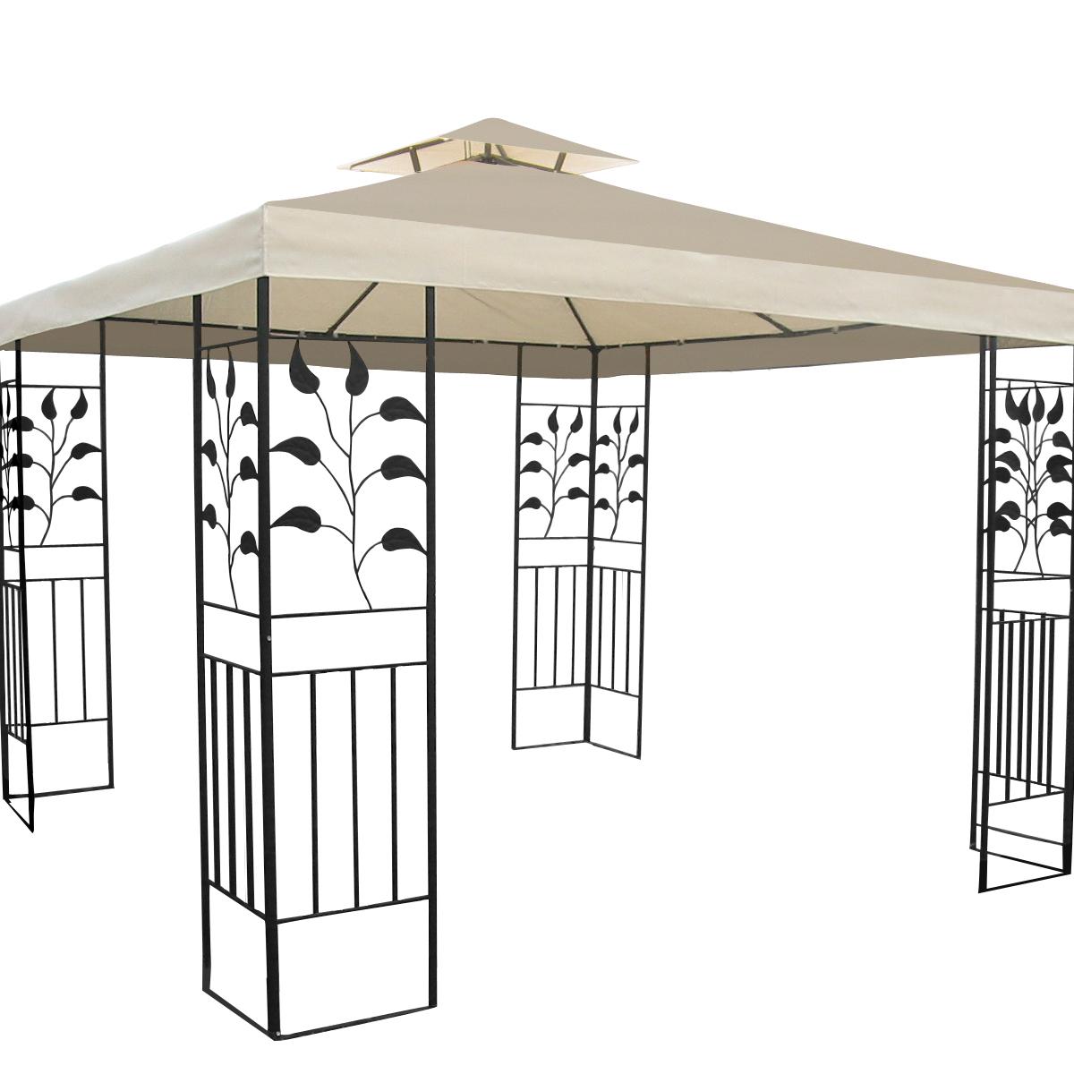 high quality hard top roof outdoor garden garden gazebo