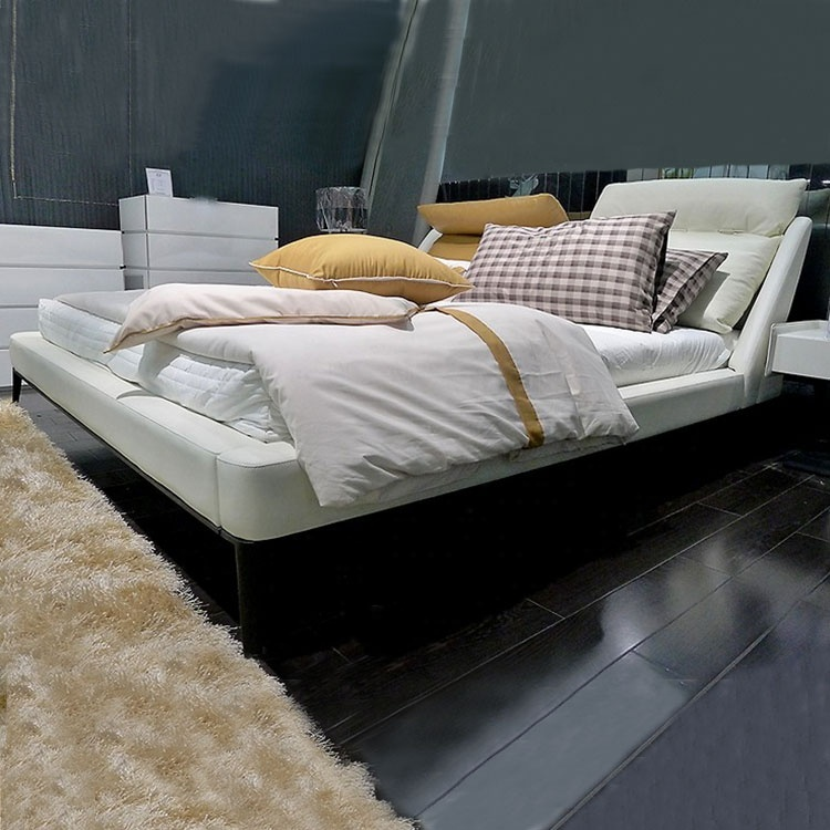 white bed hotel frame top sale solid pine hotel bed set simple modern design hotel extra bed