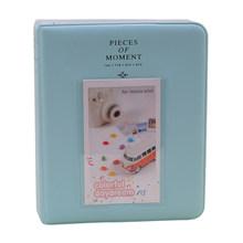 """64 кармана фотоальбом для fujifilm instax mini 8 mini 9 7s 50 90 бумажные пленки для мгновенной камеры 3 """"фотоальбом Органайзер пленка(Китай)"""