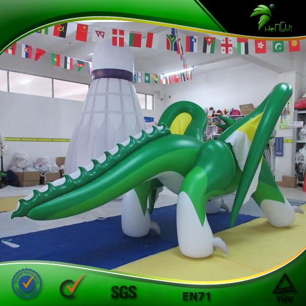 Надувной дракон с крыльями Hongyi, сексуальный надувной зеленый дракон, надувная кукла-животное