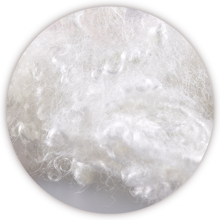 High Quality 3D 7D 15D Fluffy Rebound Materia 100% Polyester Fiber Synthetic