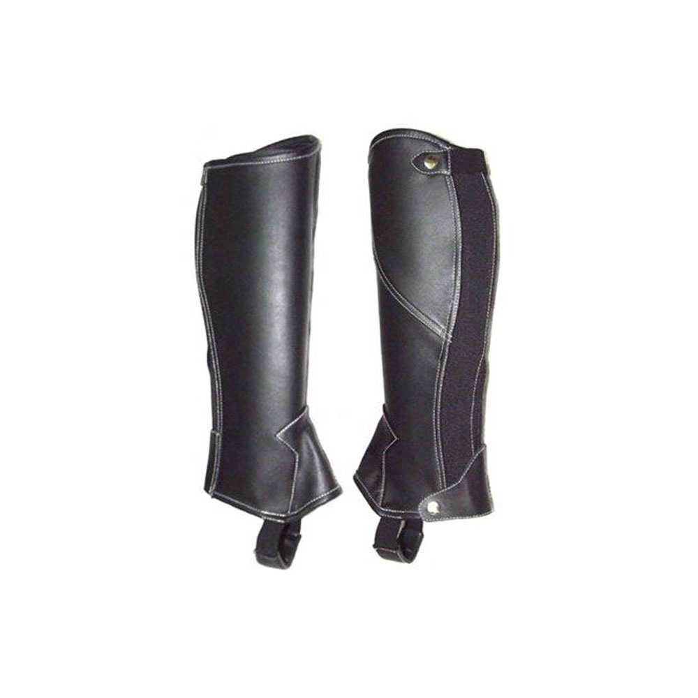 Chaps Equestrian product half , mini , leather , horse riding equipment