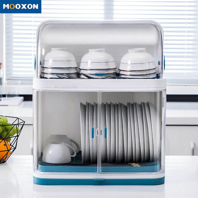 Easy Assemble 2 Tiers Kitchen Storage Utensil Drying Shelf Holder Dish Drainer Rack Box Buy Pp Abs Plastic Kitchen Stand Cutlery Storage Holders Organizer Dish Rack Shelves Dish Drain Rack Box Dishes
