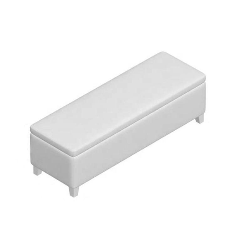 contemporary design storage bench seat sky blue white bench for storageh box pouffe storage bench
