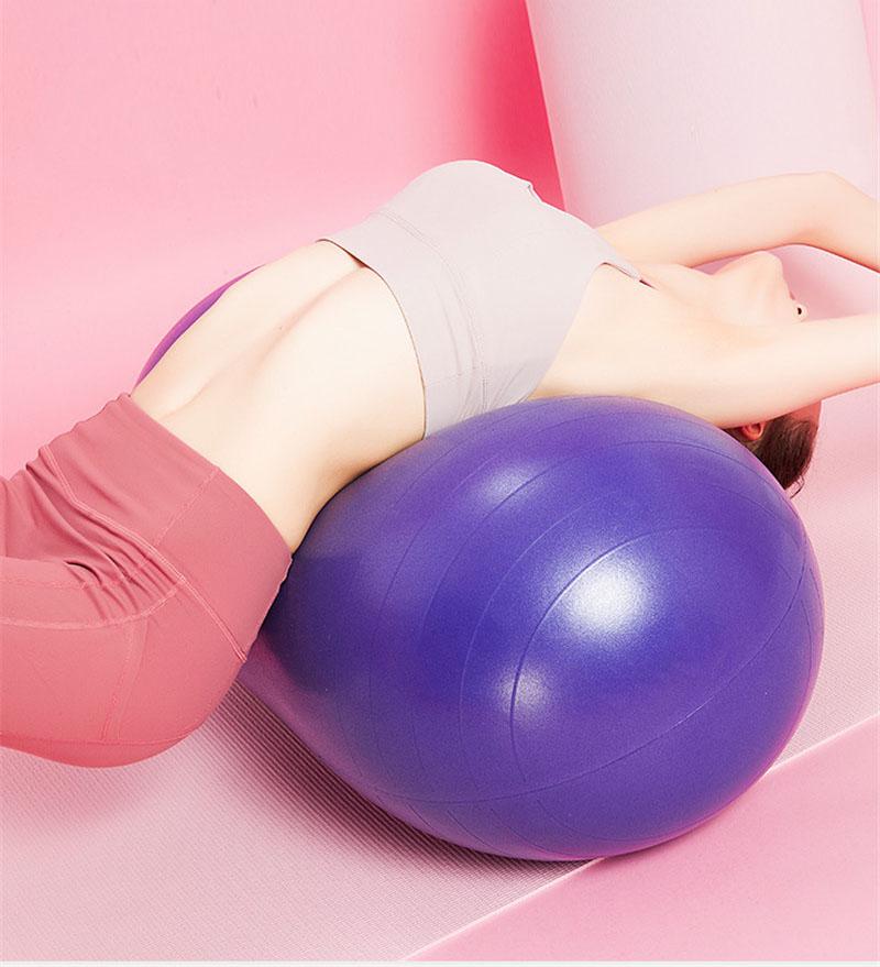 Мяч для йоги в виде арахиса с логотипом на заказ
