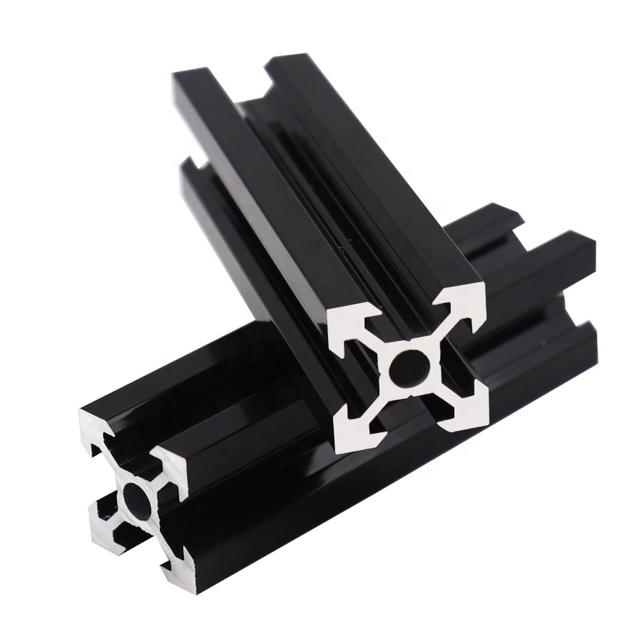 T Slot V Slot 6063 T5 Led Aluminium Extrusion 2020 2040 2080 Aluminium Profile Supplier For Linear Rail 3d Printer Buy 3d Printer V Slot Aluminium Profile Supplier Product On Alibaba Com