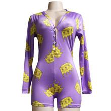 Модные пижамы 2020, сексуальное ночное белье, Детская Женская одежда с принтом, сексуальная одежда для сна с длинным рукавом, женские пижамы #(Китай)