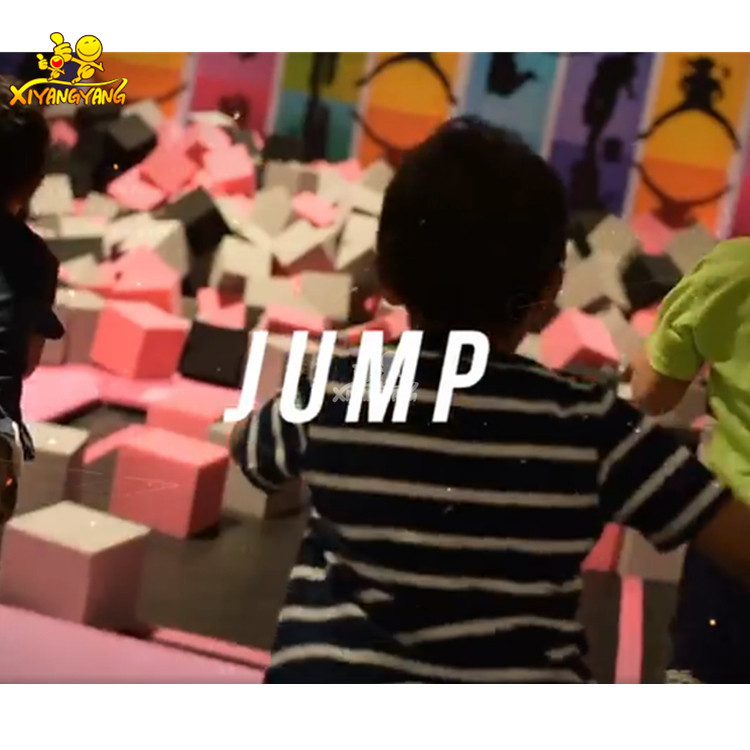 China Supplier Professional Gymnastic Trampoline Park Children Indoor Playground with trampoline