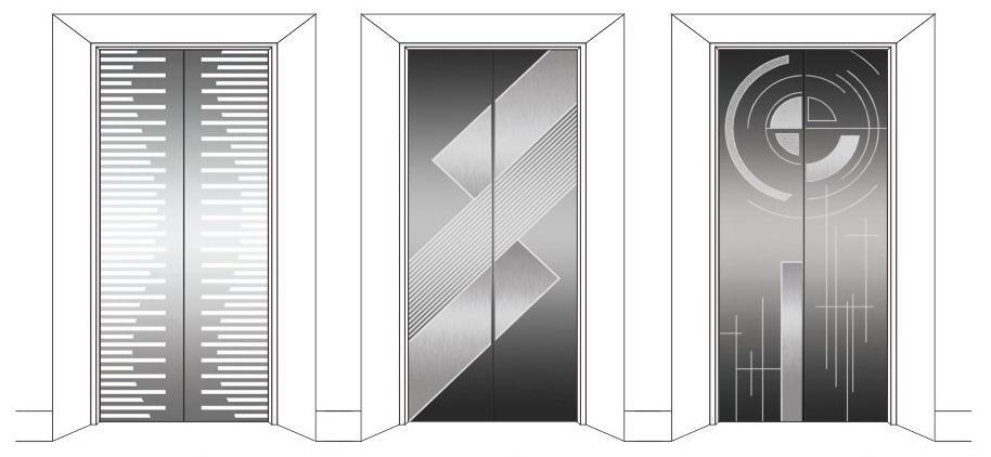 Листовой стальной материал Inconel601 NS313, модель оригинального места JIA Fenghua Inconel, дверная панель из нержавеющей стали для лифтов