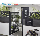Laser Cut Metal Screen Balustrades Panels for Fence and Gate
