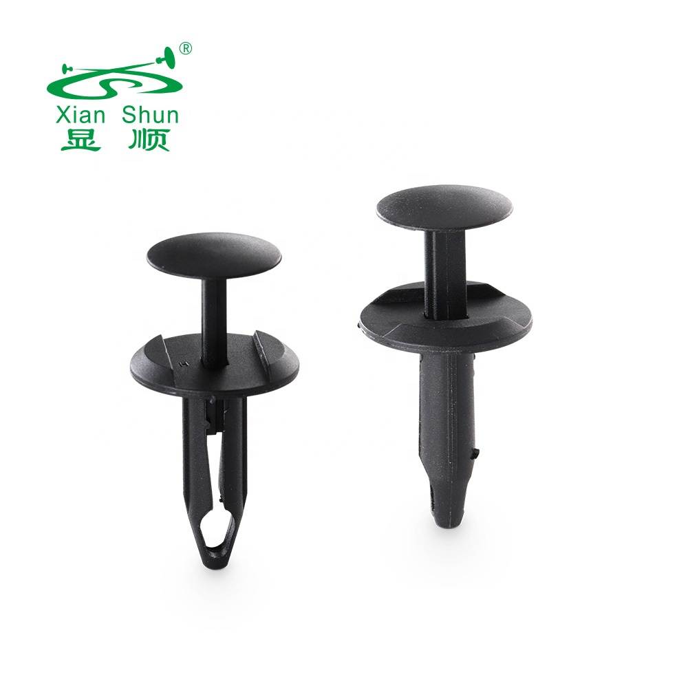 Xian Shun Automobile fasteners manufacturer custom Push type rivet plastic car clip