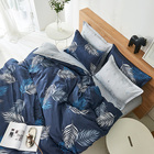 Blue Bedding Set 1 Blue 100% Polyester Bedding Set Includes 1 Down Quilt Cover 1 Sheet Sheet And 2 Pillowcases