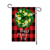 Red Plaids BackGround Summer Flags Wholesale