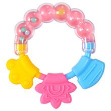 Детский молярный твердый зуб мягкий силикагель погремушка-грызунок игрушка новорожденный жевательный пищевой силиконовый Прорезыватель ...(Китай)