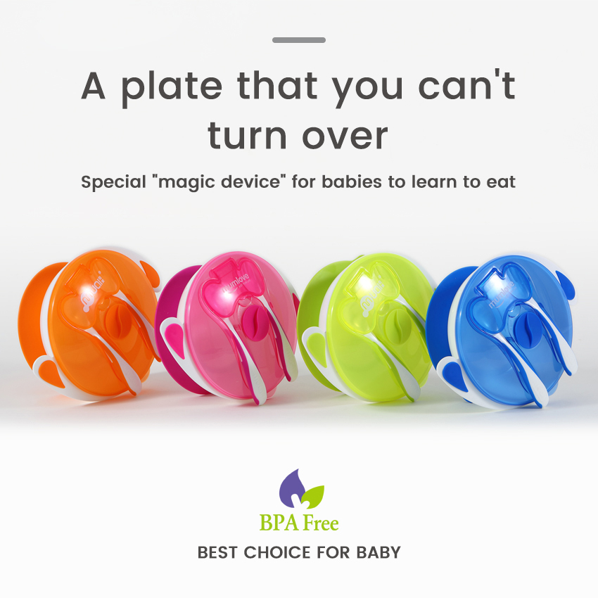 Dishes Baby Baby Supplies Transparent Baby Product Silicone Suction Bowl