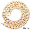 Gold 46cm necklace