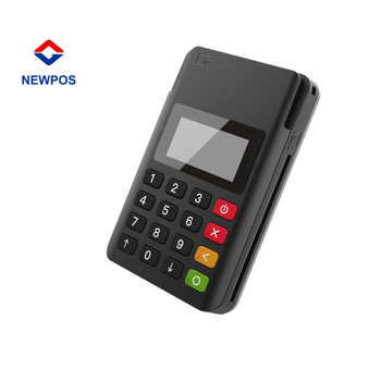 EMV High Performance Wireless mini POS Terminals & Credit Card Machines with Bank Card Reader Mpos