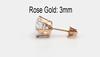 Rose Gold 3mm