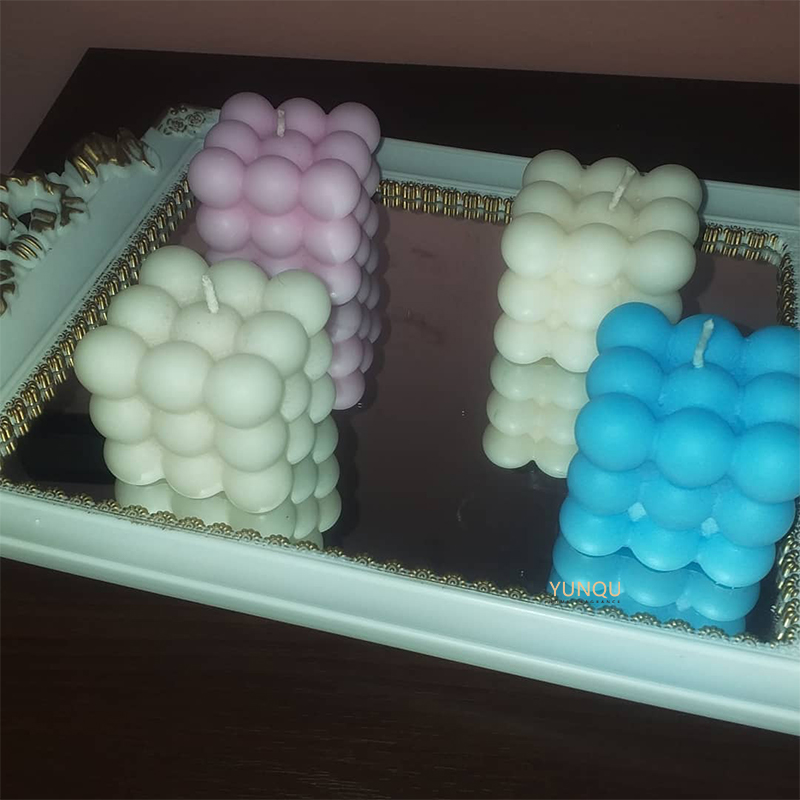 High Quality Wholesale Candles Made in China bubble candle body candle