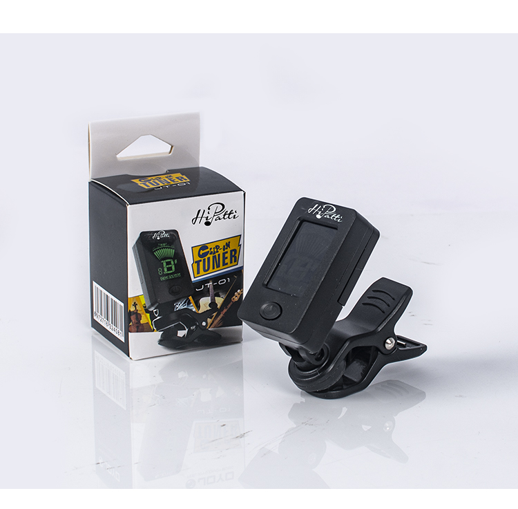 Hot Sale Clip-on Chromatic Guitar Tuner for Guitar Bass Ukulele tuner in accordance with d standard tuning