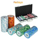 Poker Professional Casino Poker Chip 1000pcs Poker Set With Custom Logo