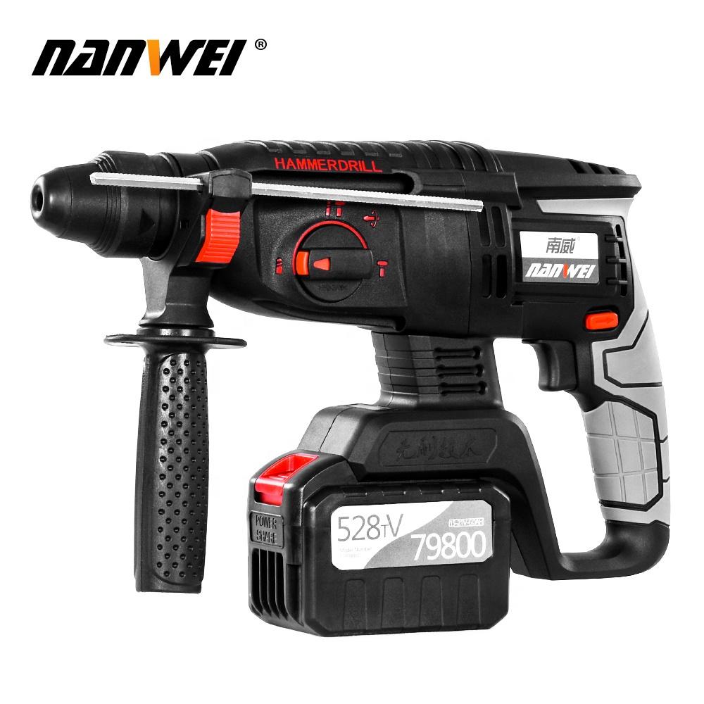NANWEI strong power 528tv cordless hammer drill
