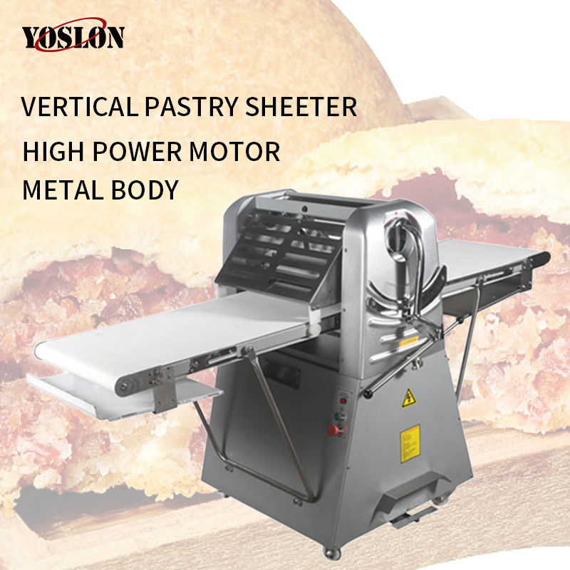 Yoslon YSN-520L Commercial, Automatic Laminadora De Masa Meringue Bread Croissant Dough Sheeter/