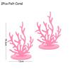 Комплект из 2 предметов, розовый коралл