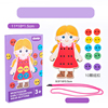 Girls clothes buttons