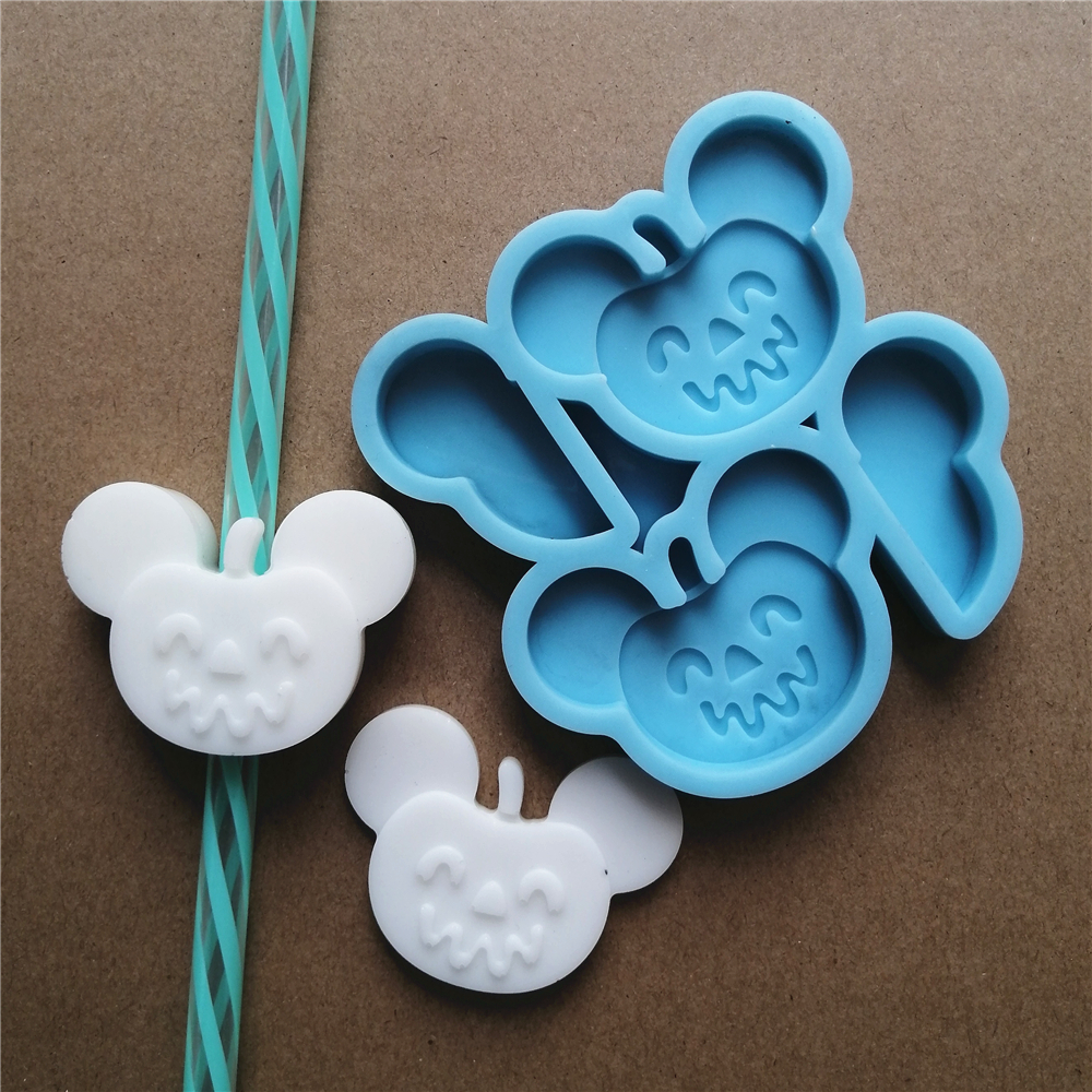 Mouse Ear Straw Topper