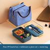 Blue lunch box+ bag