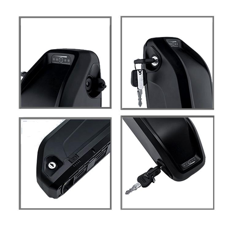 Deep cycle ebike 48v 52v 60v 72v rechargeable 36v electric bicycle batteries