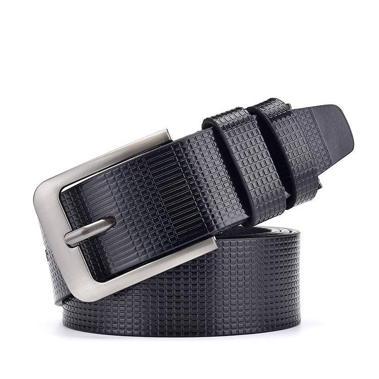 Hot sale various types pin desinger PU leather lather belt belts for men