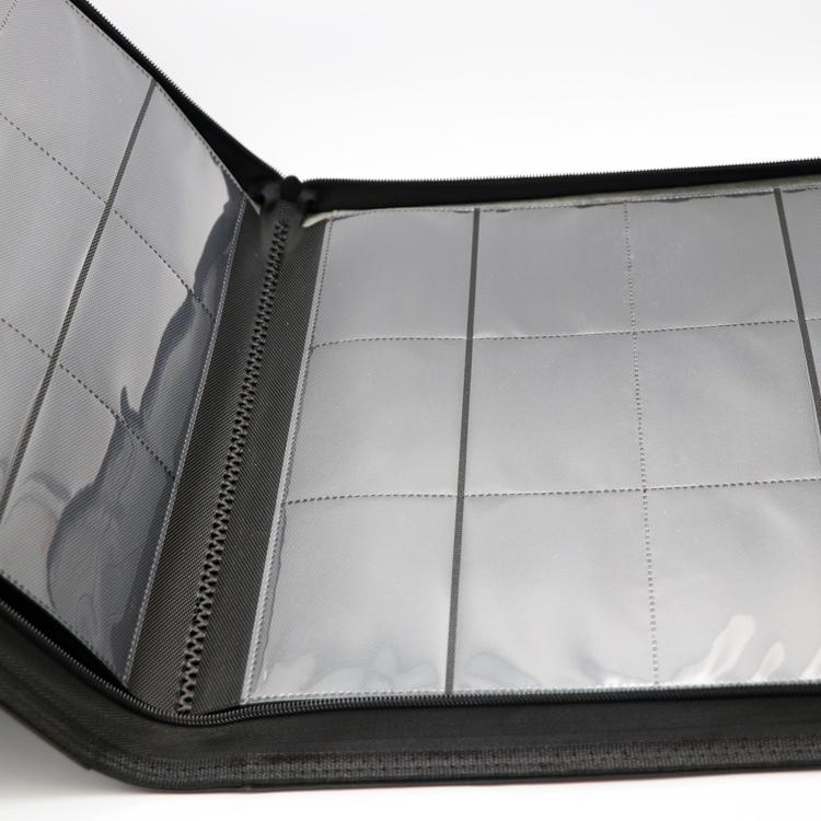 12 pockets pages magic sleeve yugioh premium card binder
