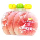 Screw Cap Pouch Fruit Peach Jelly Drink Packaging Screw Cap Pouch Special-Shaped Nozzle Bag