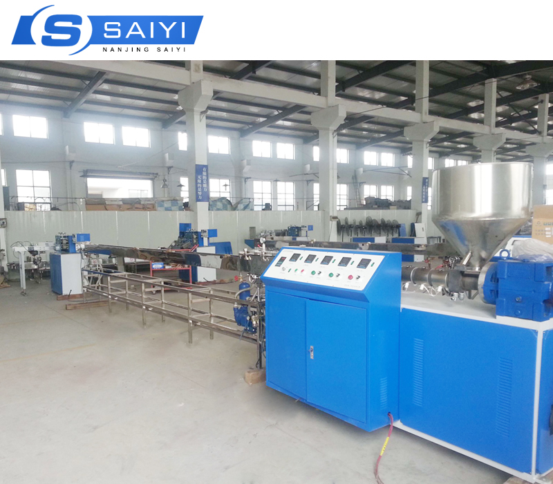 Cost effective Single color plastic drinking straw extruding machine