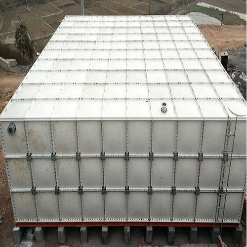 Customized FRP GRP Panels Bolted 100000 Liters Plastic Water Tank
